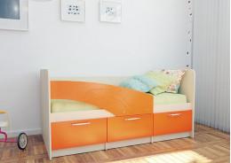 Кровать Дельфин  (спальное место 1.6х0.8)
