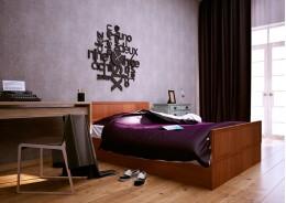 Кровать со штапиком (спальное место 2х0.8)